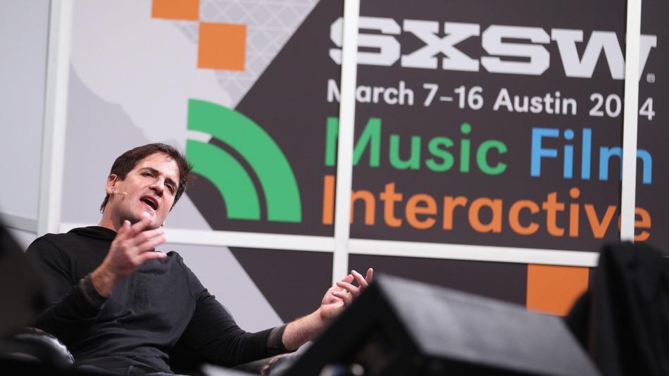 Mark Cuban speaks at SXSW 2014.