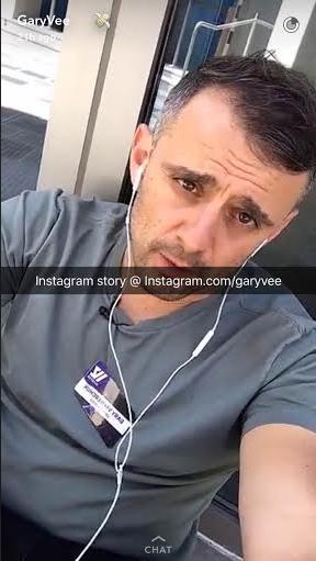 GaryVeeSnapchat