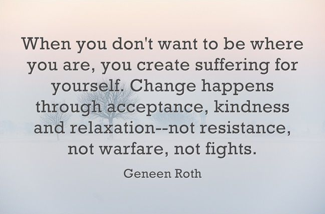 What I Learned Today From Geneen Roth