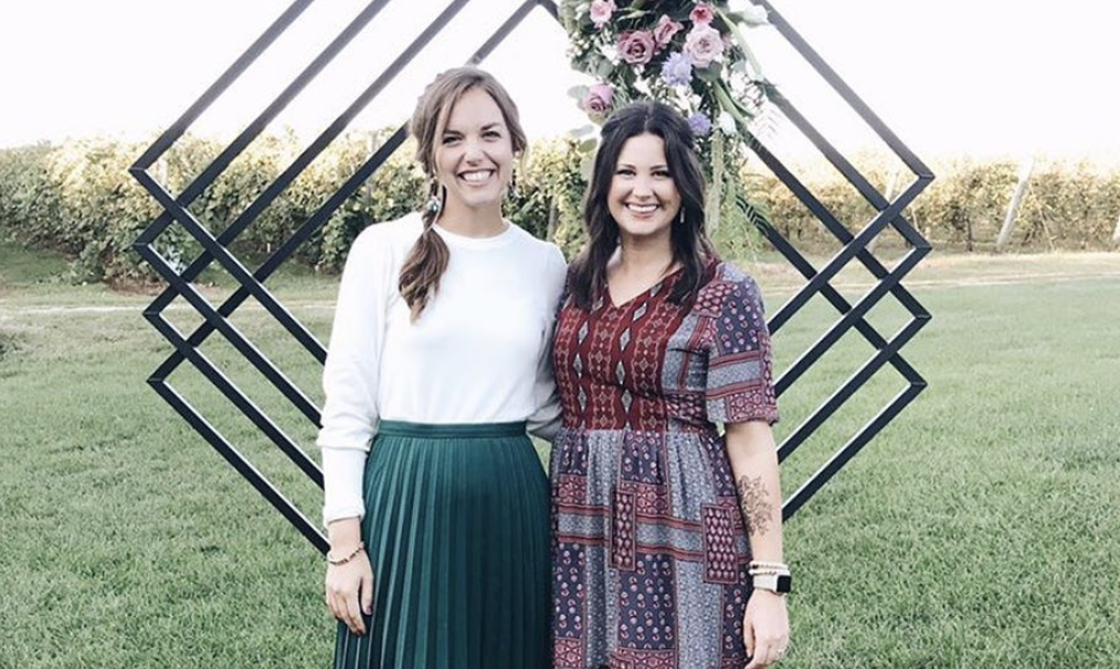 Risen Motherhood co-founders Laura Wifler and Emily Jensen.